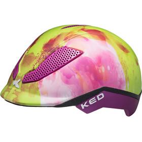 KED Pina Helmet Kids Flower Green